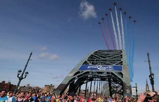 The Great North Run – 11th September 2022